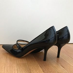 🎉HP🎉Coach 8.5 B A3103 Amaris black leather heels